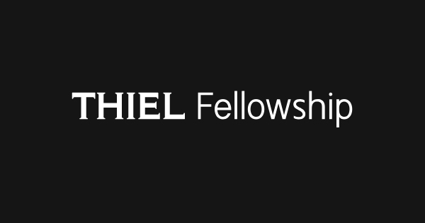 thiel fellowship essay I found out about the thiel fellowship when the 2014 class was announced and i started working on my application since (roughly about a year) and was incredibly excited by the entire program i tho.
